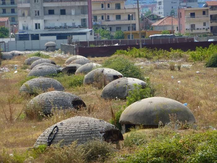 Bunker dictator Enver Hoxha's Albania