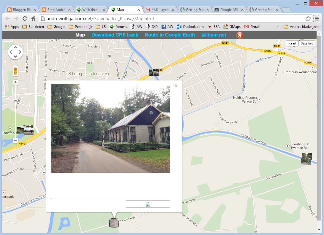 Blog André Wolff How To Add A Map To A Slide Show The FancyBox - Track my route on google maps