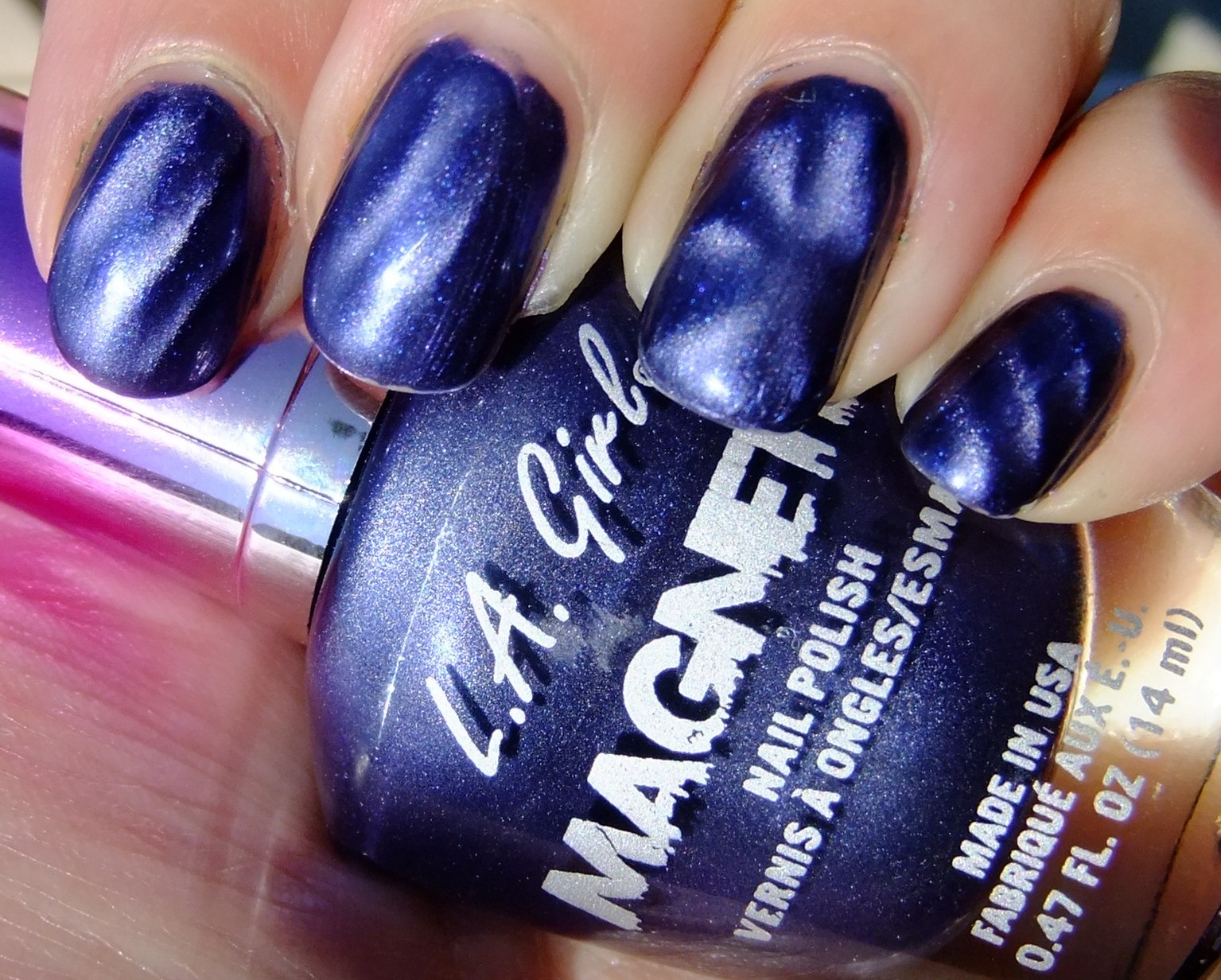 Willa\'s Shiny Tips: L.A. Girls - Magnetic Polish is AWESOME!