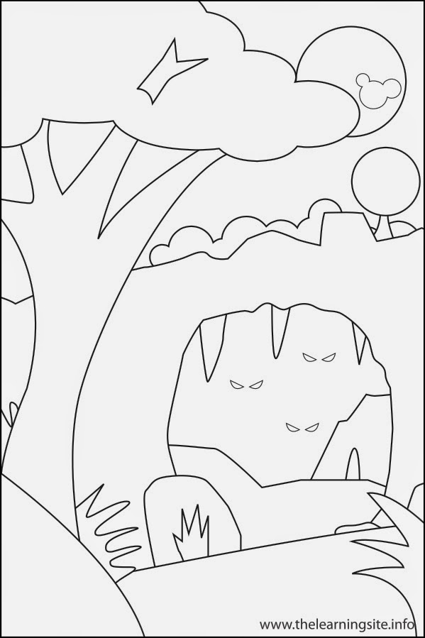 limestone caves coloring pages - photo#44