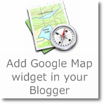 Add Google Map widget in your Blogger blog