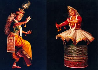 Manipuri - classical dance of Manipur, India