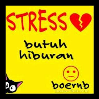 Display Pic For Bbm - stress butuh hiburan