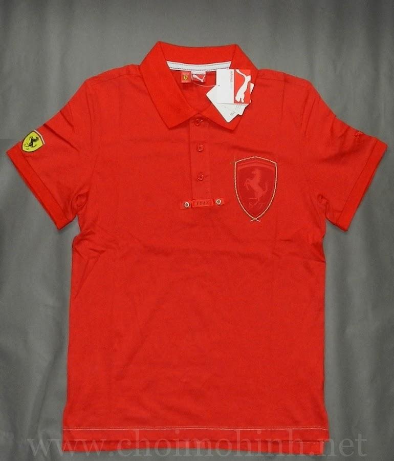 Áo thun Ferrari Puma lifestyle 1947 RED front