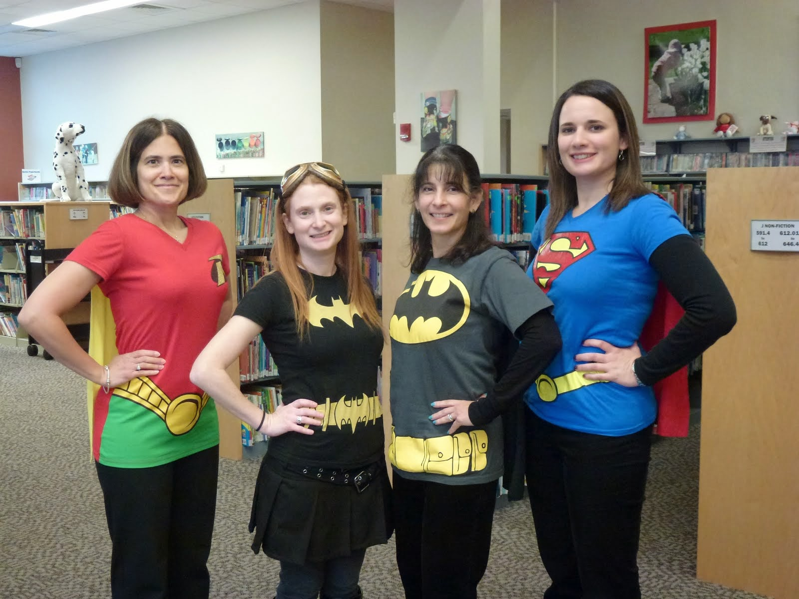 Superhero Librarians