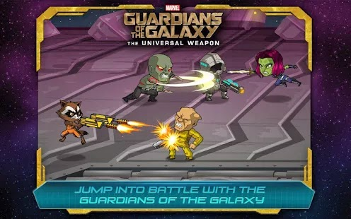 Guardians of the Galaxy: The Universal Weapon v1.3 Apk Android