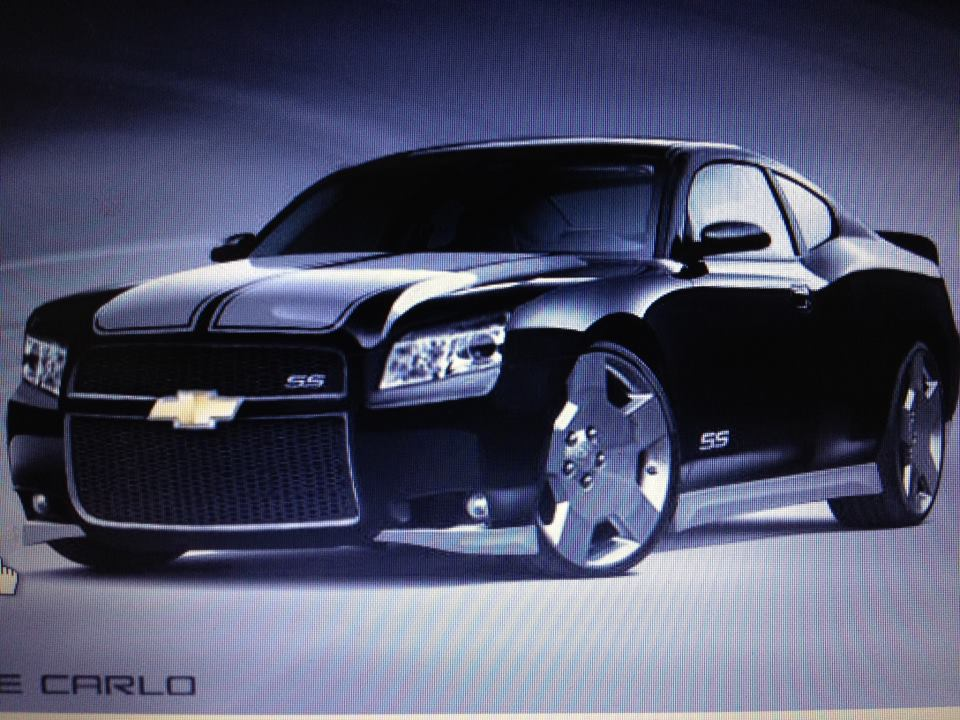 Seranitafari street team could gm say yes the chevrolet monte carlo ss for 2014