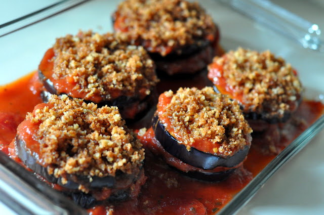 Healthier Eggplant Parmesan | Taste As You Go