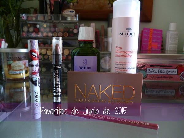 Favoritos de Junio de 2015