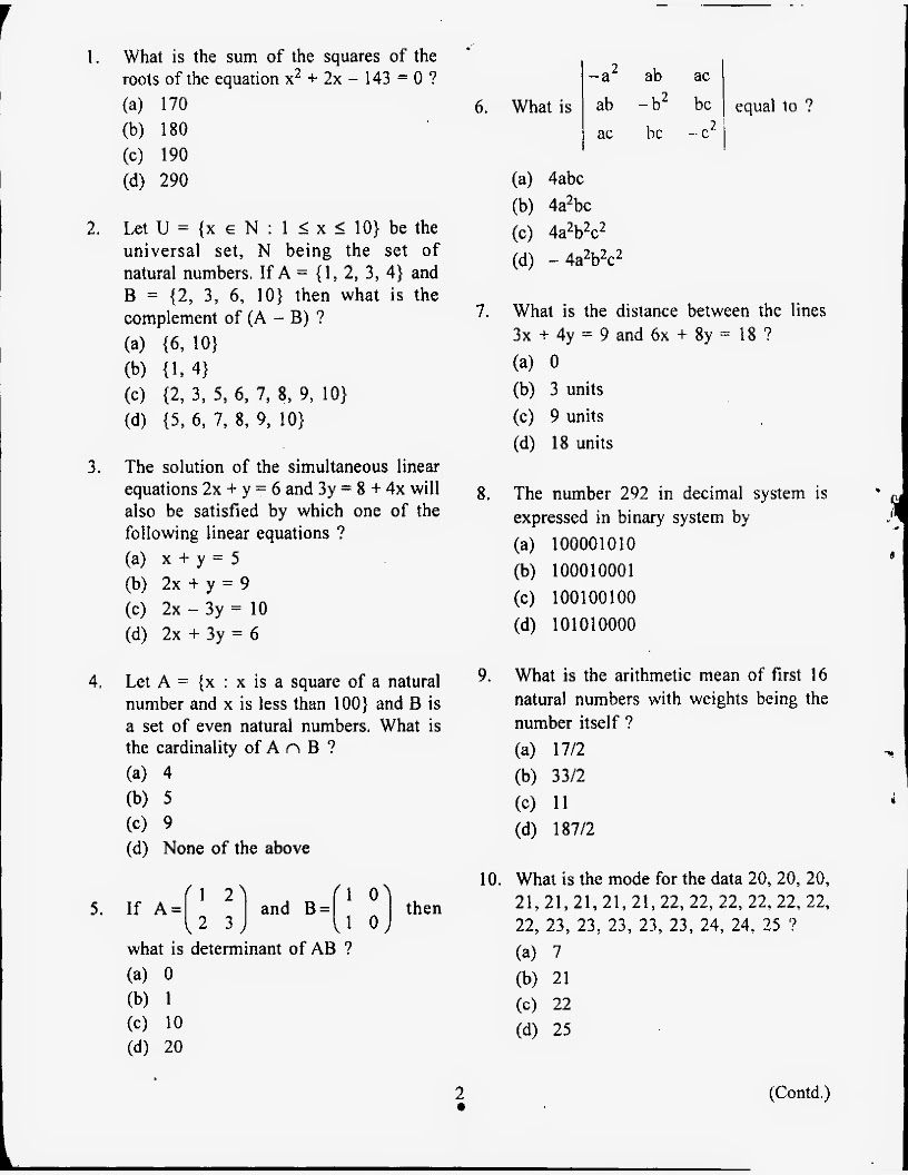 essay math question