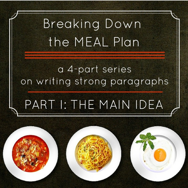 Breaking Down the MEAL Plan with the Walden Writing Center: Part 1: The Main Idea