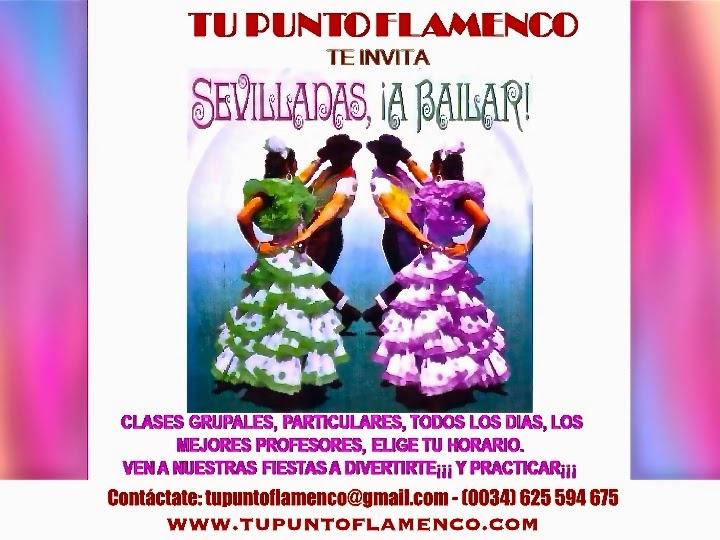TU PUNTO FLAMENCO EN SEVILLA: CLASES DE SEVILLANAS