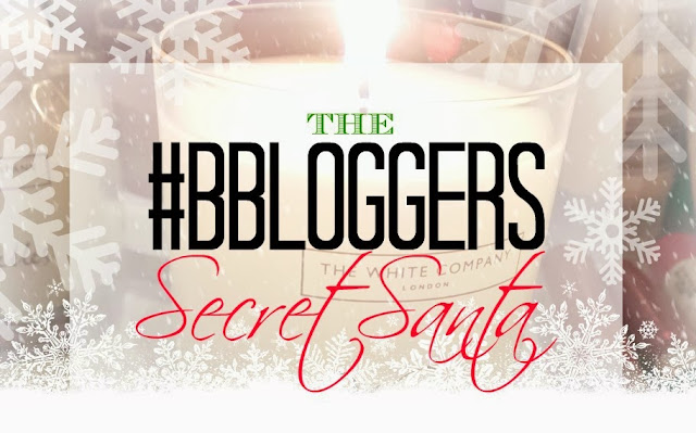 The #bbloggers secret santa banner