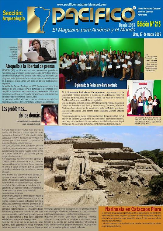 Revista Pacífico Nº 215 Arqueología
