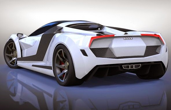 2016 Audi R10 Rear View