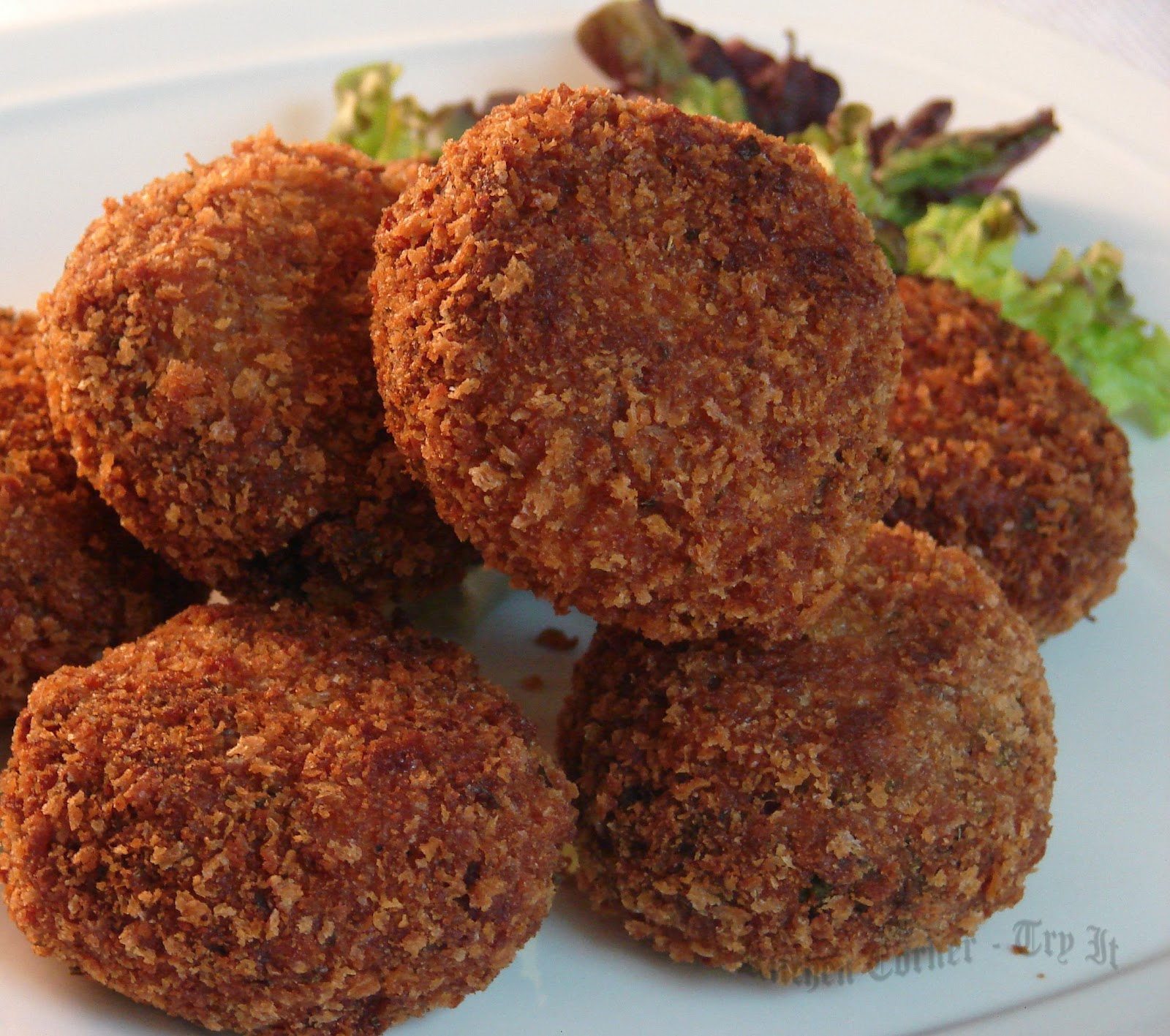 An alternative to meat is vegetable cutlets, a recipe