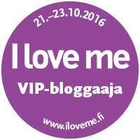 I love me -messujen VIP-bloggaaja 2016