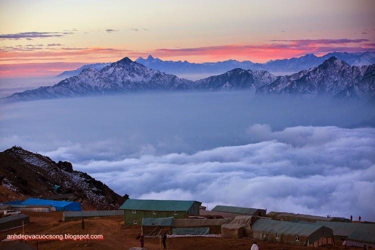 Mùa đông ở dãy núi Himalaya 10