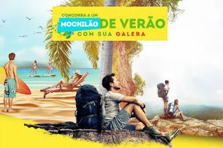 Promoção Lipton Mochilão de Verão
