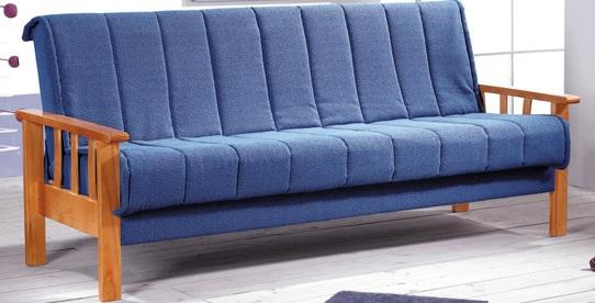 Estilo de sofa camas muebles r sticos la guafilla for Sofa con dos camas