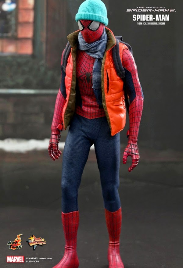 Hot Toys Action Figure Amanzing Spider Man 2
