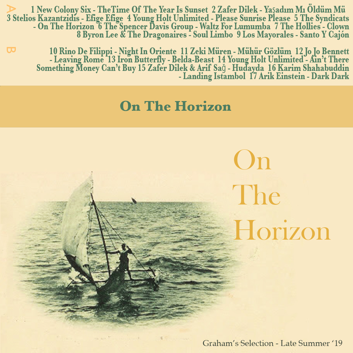 GRHM#15 - ON THE HORIZON