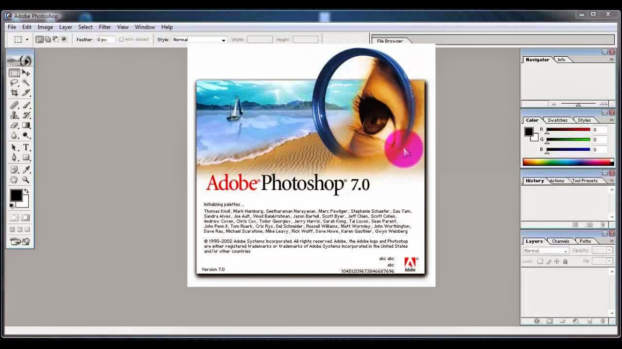 Free Learn Complete Adobe Photoshop 7.0 in Urdu and Hindi Language