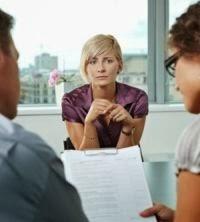 mulher process de seleção de emprego indo mal