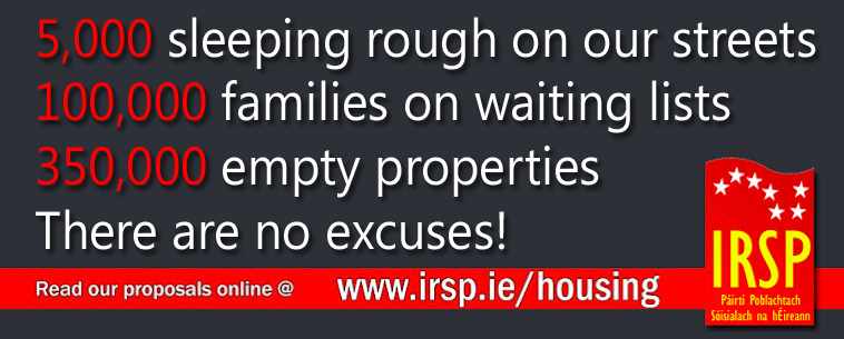 IRSP Housing Campaign