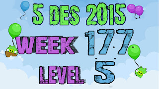 Angry Birds Friends Tournament level 5 Week 177