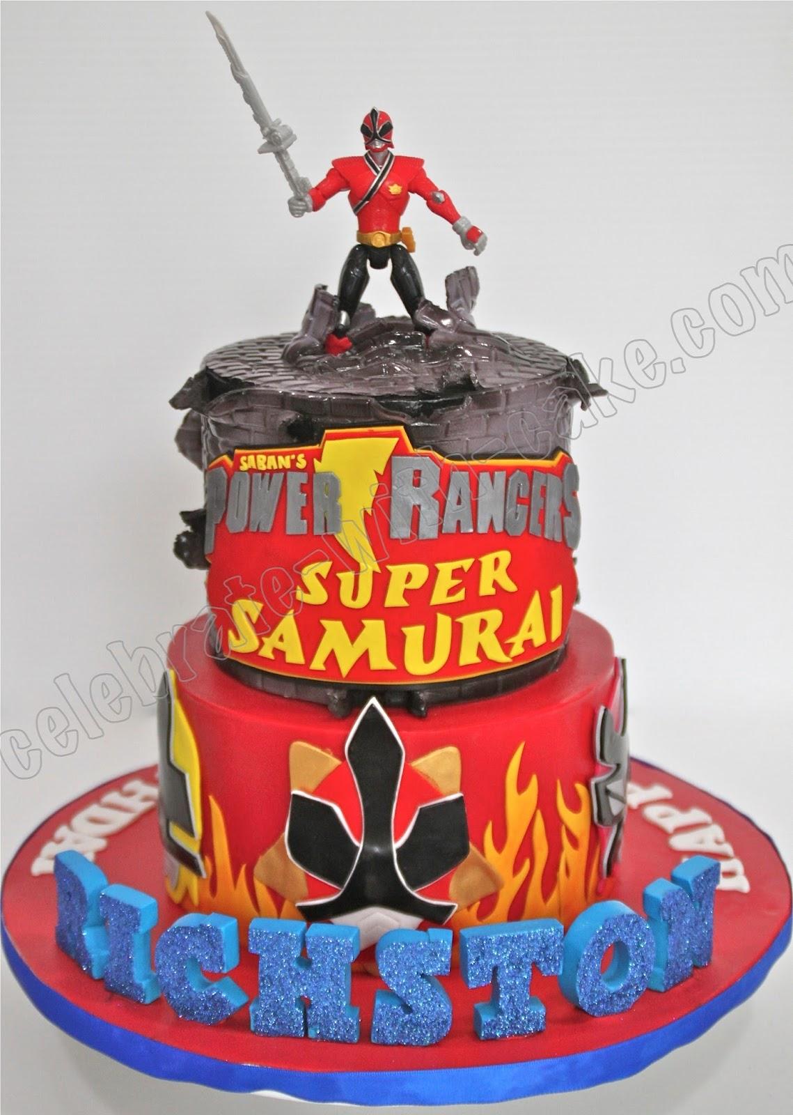 Power Rangers Birthday Cake Singapore