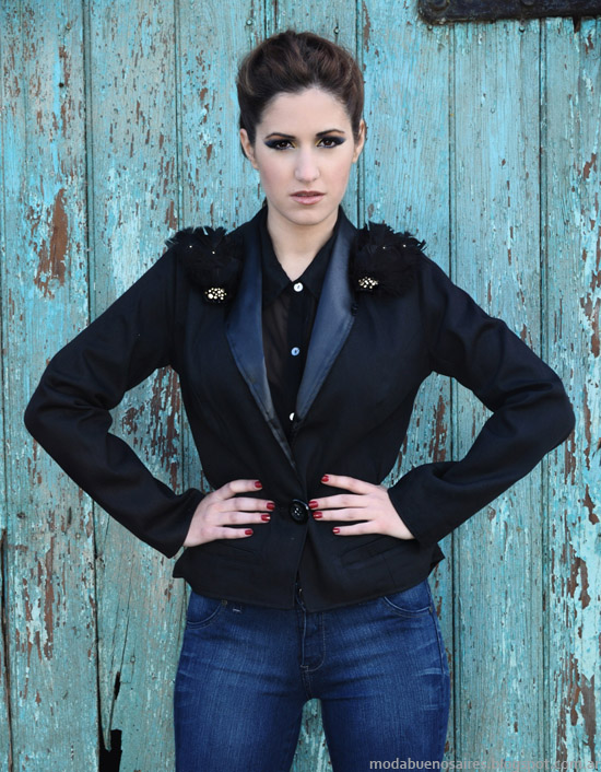 Thirteen Doors sacos y blazers invierno 2013 Moda.