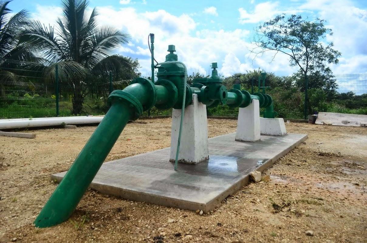 Periodismo sin censura avanzan 25 obras de agua potable y for Agua potable