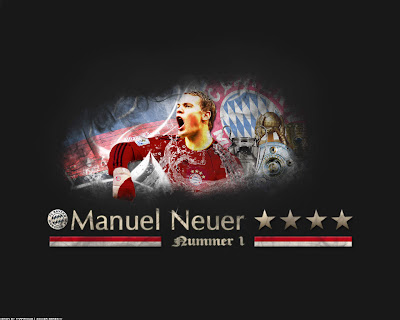 Manuel Neuer wallpaper - bayer munchen squad wallpaper