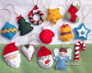 trabalhos+de+natal Enfeites e objetos para decoração de Natal
