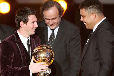 Éste es el equipo ideal del año, según Ronaldo…