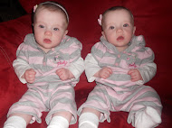Our sweet little twins, Ava and Olivia!
