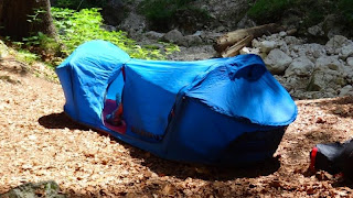 Single Person Bivy tent by Mammut