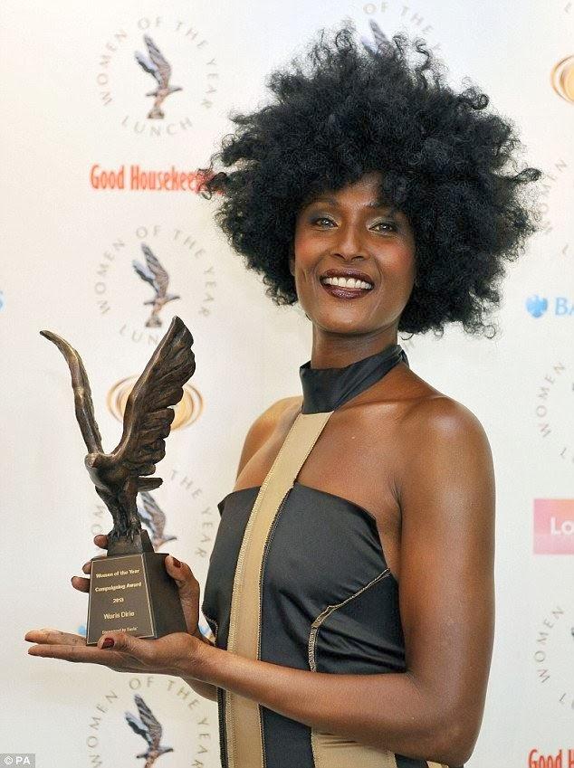 Woman of the Year ဆုပိုင္ရွင္ ဝါရစ္ဒိုင္ရီ