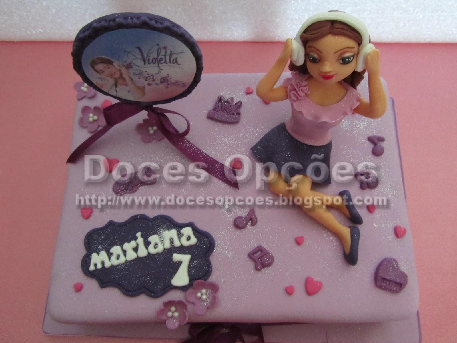 disney's violetta cake
