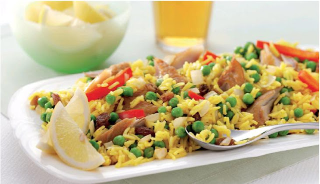 Veggie PEA KEDGEREE