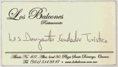 imagen de tarjeta de restaurante los balcones