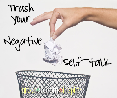 Trash your negative thoughts