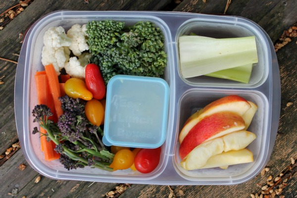 A weekend's worth of healthy snacks packed and ready to go!