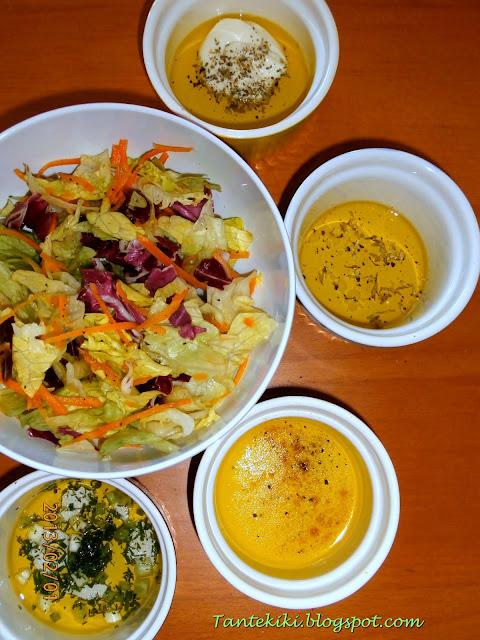 4 dressings για μια πράσινη σαλάτα