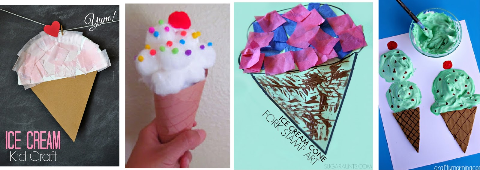 Ice Cream Crafts Kids Activities