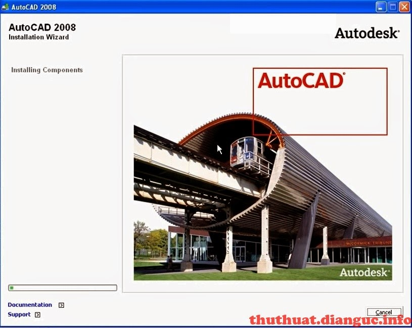 Tải AutoCad 2008 Full Crack Link MF
