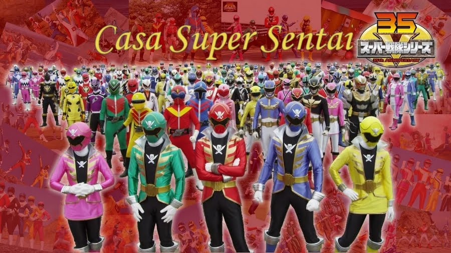 Casa Super Sentai