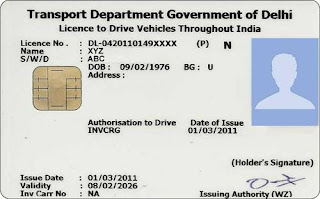 Duplicate Driving Licence