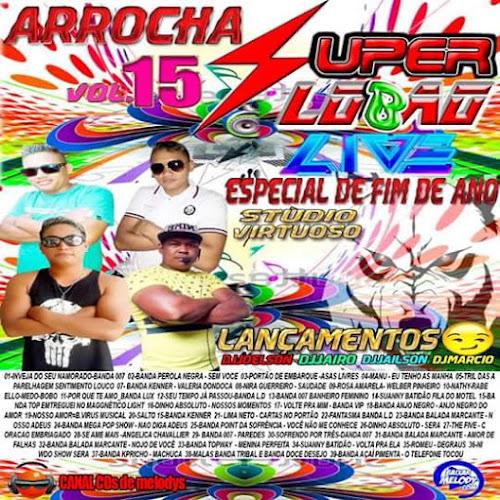CD ARROCHA VOL.15 SUPER LOBÃO LIVE